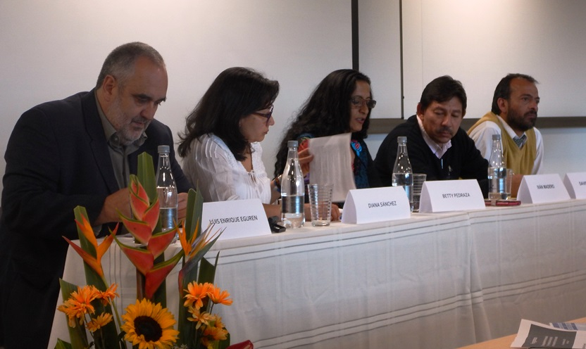 150915 Foro OINGs Luis Enrique Eguren, Ivan Madero, Betty Pedraza, David Martinez y Diana Sanchez - Anders Nordenskjold (2)